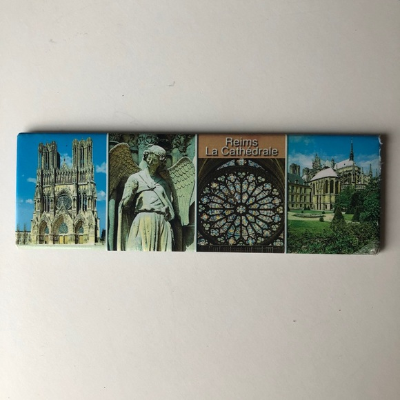 Souvenir from Reims, France. Magnet